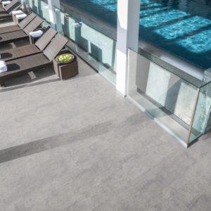 Egger grey fontia concrete szürke járólap hatású vízálló laminált padló