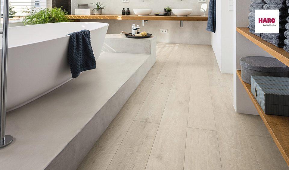 haro vízálló laminált padló fürdőszobába