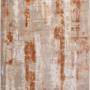 Bolereo terrakotta színű, 3 dimenziós hatású középszőnyeg.