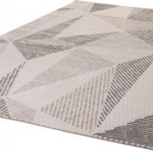 Bolero szőnyeg szürke, geometria mintával.