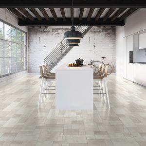 Quick Step laminált padló Fehér kerámia
