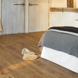 Quick Step laminált padló Fehérített tölgy 1