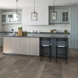 Quick Step laminált padló Sötét beton 3