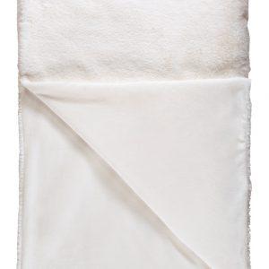 Szőrme takaró ivory